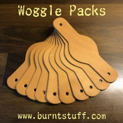 Leather Woggle Packs