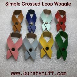 Simple Crossed Loop Woggle